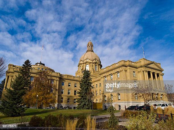 edmonton state legislature, alberta, canada - federal building stock pictures, royalty-free photos & images