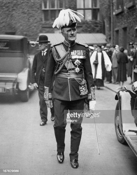 Edmund Allenby, 1st Viscount Allenby. Photograph. July 3th 1935 ...