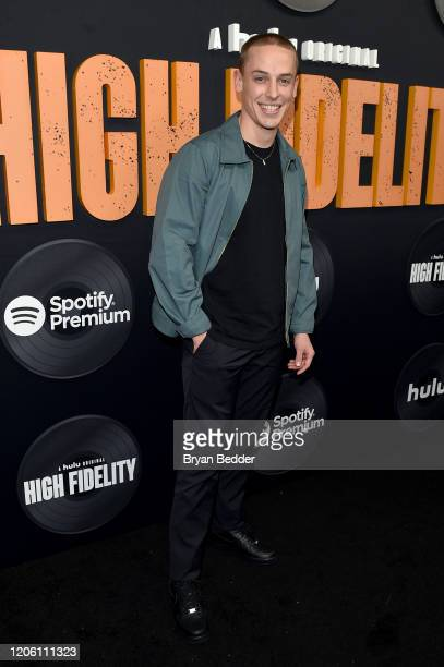 Edmund Donovan attends the High Fidelity New York Premiere at The Metrograph on February 13 2020 in New York City