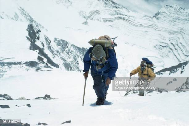 Edmund Hillary and Tenzing Norgay approach the South East ridge at 27300 feet Edmund Hillary and Tenzing Norgay approaching the South East ridge at...