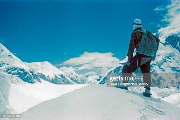 Edmund Hillary Nepal 1951 Mount Everest Reconnaissance Expedition 1951