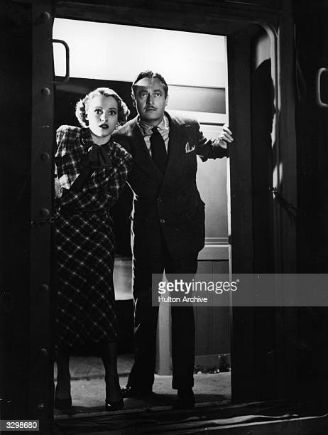 Edmund Lowe and Constance Cummings in a tense scene from the film 'Seven Sinners' Title Seven Sinners US Title Doomed Cargo Studio Gaumont Director...