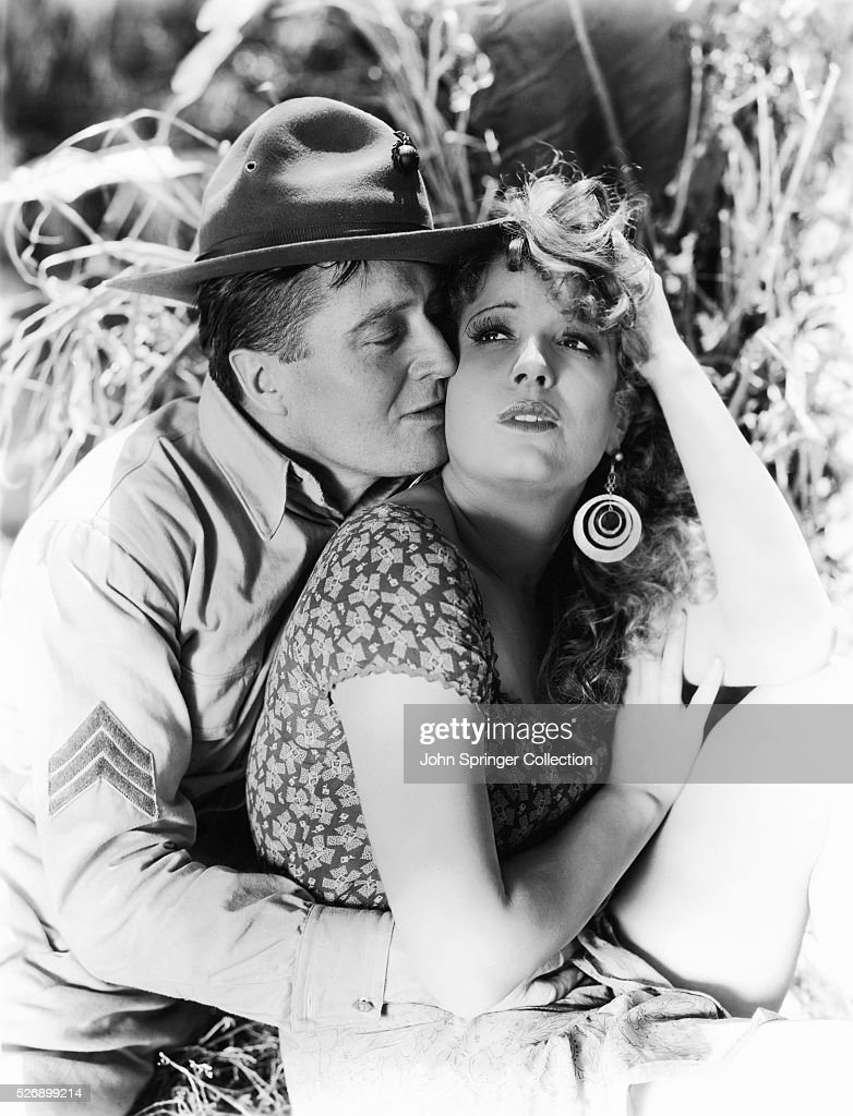 Edmund Lowe and Lili Damita in The Cock-Eyed World
