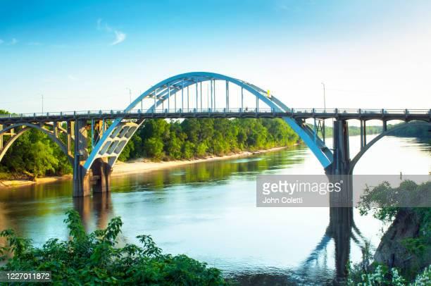 edmund pettus bridge, selma, alabama - edmund pettus bridge stock pictures, royalty-free photos & images