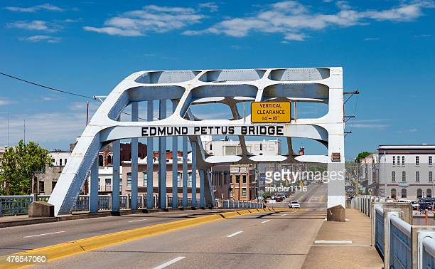 edmund pettus bridge - selma, alabama - selma alabama stock pictures, royalty-free photos & images
