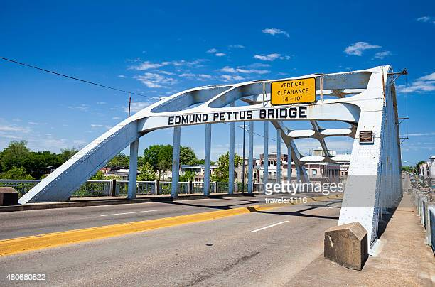 edmund pettus bridge - selma, alabama - edmund pettus bridge stock pictures, royalty-free photos & images