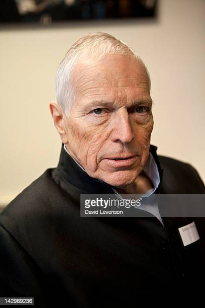 Edmund Phelps, Economics Nobel Laureate, poses for a portrait at the London Book Fair at Earls Court on April 16, 2012 in London, England.