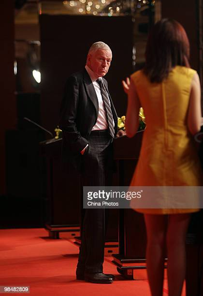 Edmund S. Phelps, 2006 Nobel Prize Laureate in Economic Sciences, attends an inauguration ceremony on April 15, 2010 in Beijing, China. Edmund S....
