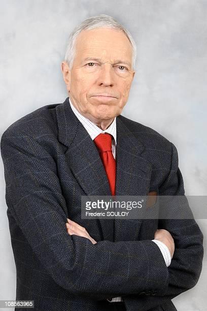 Edmund S. Phelps, Economist, Nobel Prize 2006 in Paris, France on February 11, 2007.