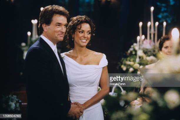 Edmund surprised Maria with an elegant, midnight second wedding ceremony at the Wildwind chapel, airing the week of June 9, 2003 on ABC Daytime's...