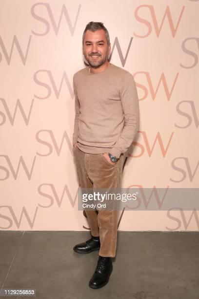 Edmundo Castillo attends Stuart Weitzman Spring Celebration 2019 on February 12 2019 in New York City