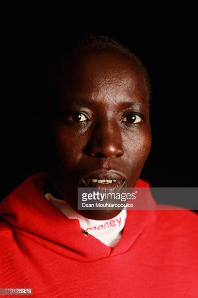 Edna Kiplagat of Kenya poses during the Virgin London Marathon 2011 Photo Call at the Tower Hotel on April 13, 2011 in London, England.
