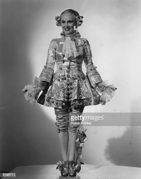 Edna Mae Jones stars in the film 'The Great Ziegfeld' a biopic of the Broadway impresario Florenz Ziegfeld directed by Robert Z Leonard for MGM