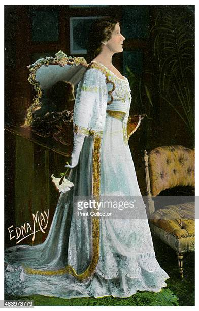 Edna May American actress and singer c19001919 Edna May was best known for her roles in Edwardian musical comedies