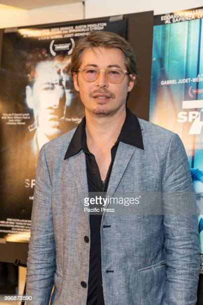 Edoardo Ballerini attends 7 Splinters in Time New York premiere at The Anthology Film Archives