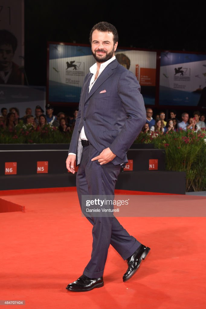 Edoardo De Angelis attends 'Perez' Premiere during the 71st Venice Film Festival at Sala Grande on September 5, 2014 in Venice, Italy.