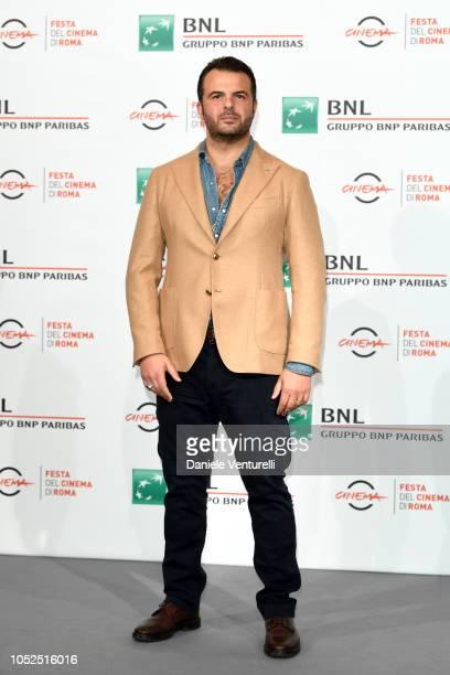 Edoardo De Angelis attends the 'Il Vizio Della Speranza' photocall during the 13th Rome Film Fest at Auditorium Parco Della Musica on October 19 2018...