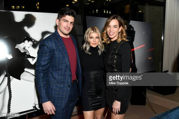 Edoardo Ferragamo Fergie and Erica Alessandri attend the CR Fashion Book Celebrating launch of CR Girls 2018 with Technogym at Spring Place on...
