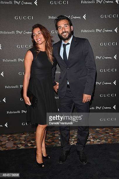 Edoardo Leo and Laura Marafioti attend The Space Movies - Universal Pictures Italia, Feltrinelli Real Cinema And Gucci Present The Italian Premiere...