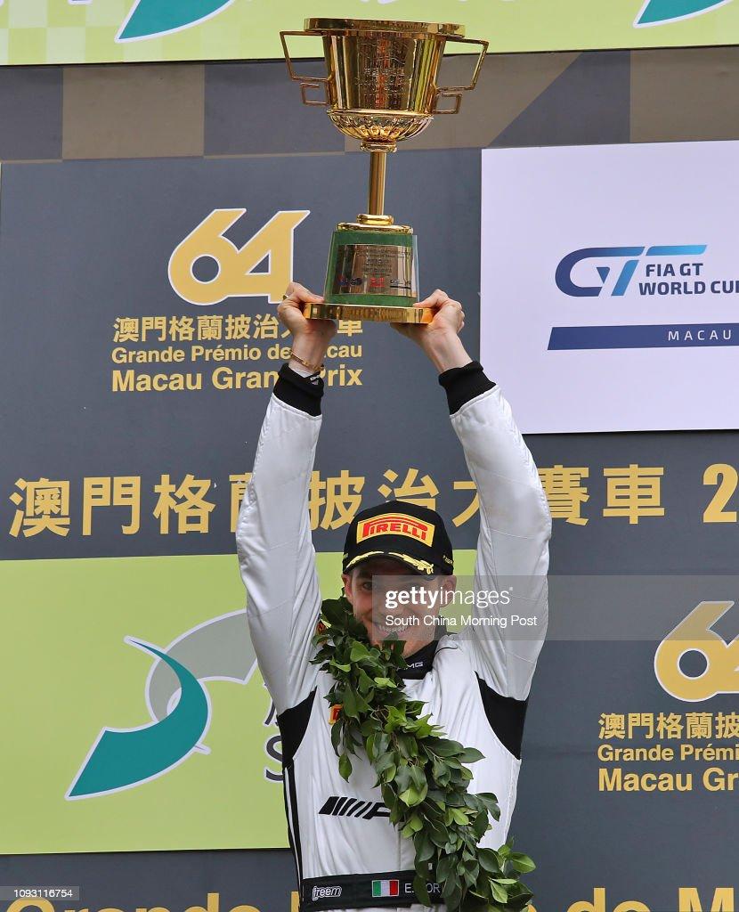 Edoardo Mortara of Mercedes-AMG Team Driving Academy, winner of SJM