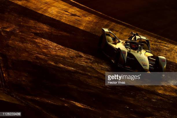 Edoardo Mortara of Switzerland drives the Venturi Formula E Team during the Practice 1 of the 2019 Mexico City EPrix on February 16 2019 in Mexico...