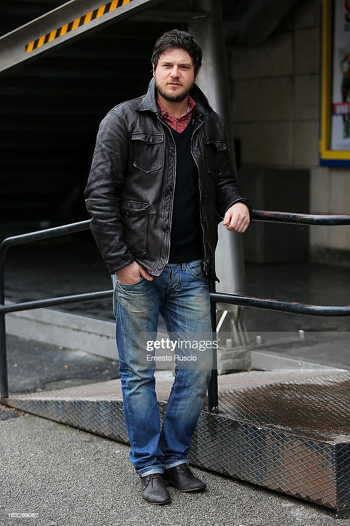 Edoardo Pesce attends the 'Ameriqua' photocall at UCI Cinemas Marconi on March 7, 2013 in Rome, Italy.