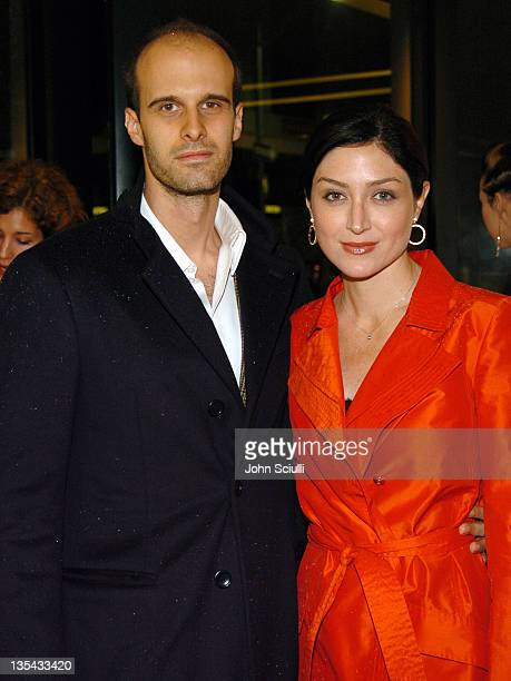 Edoardo Ponti and Sasha Alexander during Chanel's Special Premiere Screening of 'No5 The Film' at Chanel Boutique in Beverly Hills California United...