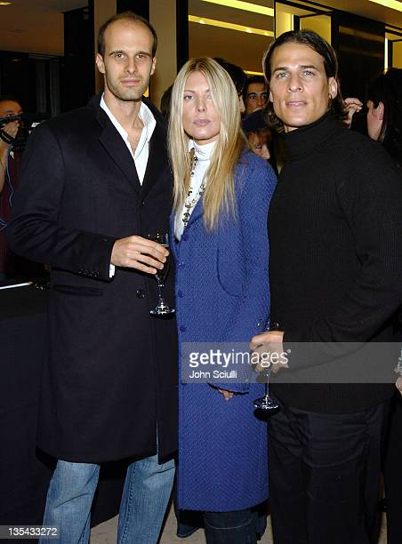 Edoardo Ponti Deborah Unger and Chris Cirillo during Chanel's Special Premiere Screening of No5 The Film at Chanel Boutique in Beverly Hills...