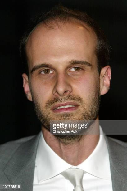 Edoardo Ponti during The 5th Annual Los Angeles Italian Film Awards presents Between Strangers at Alto Palato in Hollywood California United States