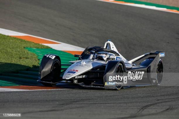 Edoardo , ROKiT Venturi Racing, Mercedes-Benz EQ Silver Arrow 02, action during the ABB Formula E Championship official pre-season test at Circuit...