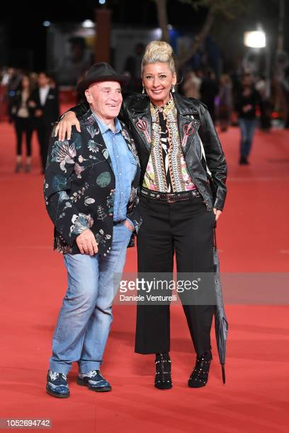 Edoardo Vianello and Elfrida Ismolli walk the red carpet ahead of the Sapore Di Mare And If Beale Street Could Talk screening during the 13th Rome...