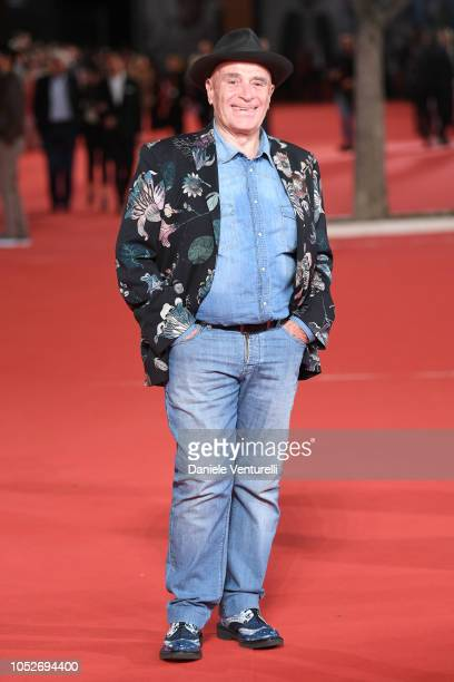 Edoardo Vianello walks the red carpet ahead of the Sapore Di Mare And If Beale Street Could Talk screening during the 13th Rome Film Fest at...