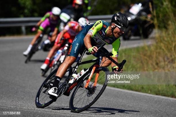 Edoardo Zardini of Italy and Team Vini Zabu' KTM / Breakaway / during the 55th Tirreno-Adriatico 2020, Stage 2 a 201km stage from Camaiore to...