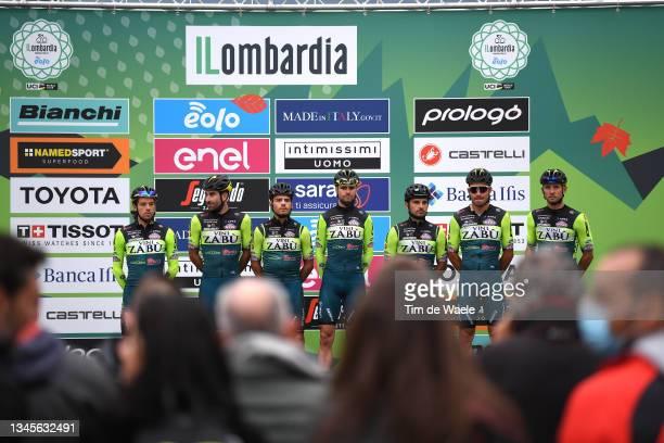 Edoardo Zardini of Italy, Simone Bevilacqua of Italy, Marco Frapporti of Italy, Jakub Mareczko of Italy, Davide Orrico of Italy, Daniel Pearson of...