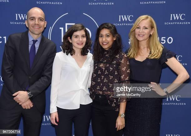 Edouard dArbaumont Charlotte Rebate Sonejuhi Sinha and Jennifer Westfeldt attend the IWC Tribeca Film Festival Filmmaker Award Celebration on April...
