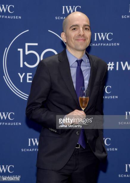Edouard dArbaumont speaks at the IWC Tribeca Film Festival Filmmaker Award Celebration on April 16 2018 in New York City