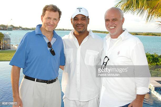 Edouard Ettedgui , Dr. Michael E. Misick and Dr. Cem Kinay attend Cocktail Party hosted by The Premier of Turks and Caicos, MICHAEL E. MISICK for The...