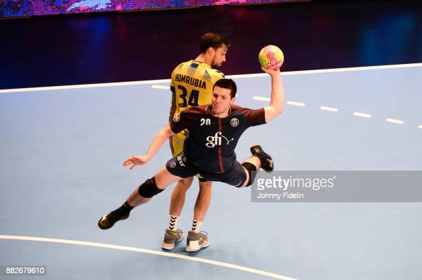 Edouard Kempf of PSG during the Lidl Starligue match between Paris Saint Germain and Tremblay on November 29 2017 in Paris France