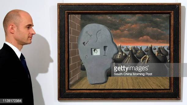 Edouard Malingue founder of Edouard Malingue Gallery introduces the oil painting The Spontaneous Generation by Rene Magritte in 1937 estimated HK$286...