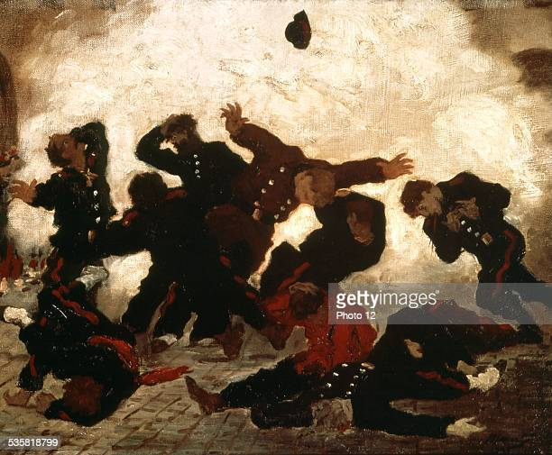 Edouard Manet Shooting of the Communards France Paris Commune Essen Folwang museum