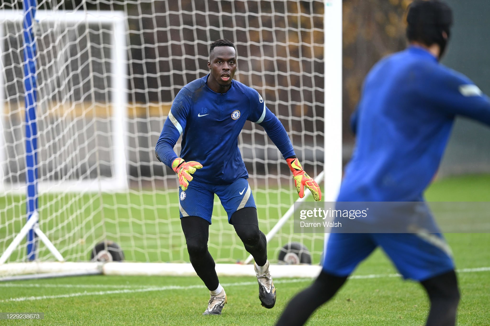 Chelsea Press Conference And Training Session : News Photo