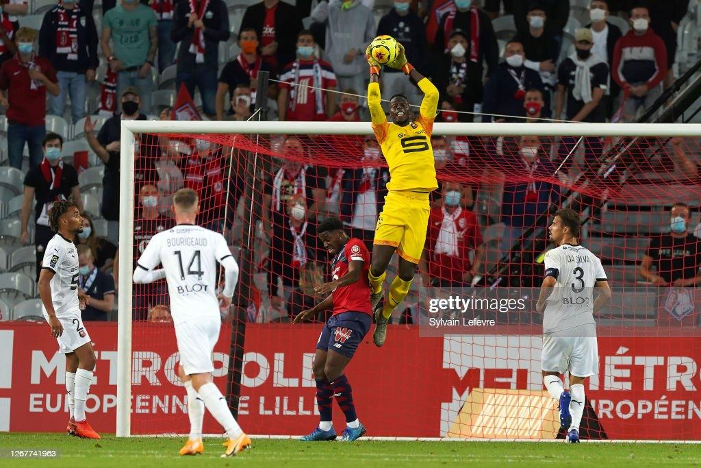 Lille OSC v Stade Rennes - Ligue 1 : ニュース写真