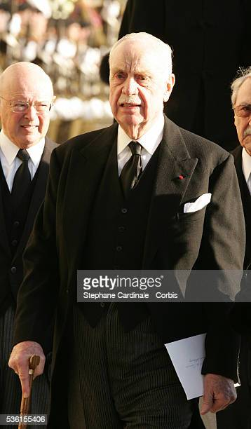 Edouard of Lobkowitz attends the funeral of Grand Duchess of Luxembourg JosephineCharlotte daughter of former Belgian King Leopold III and sister of...