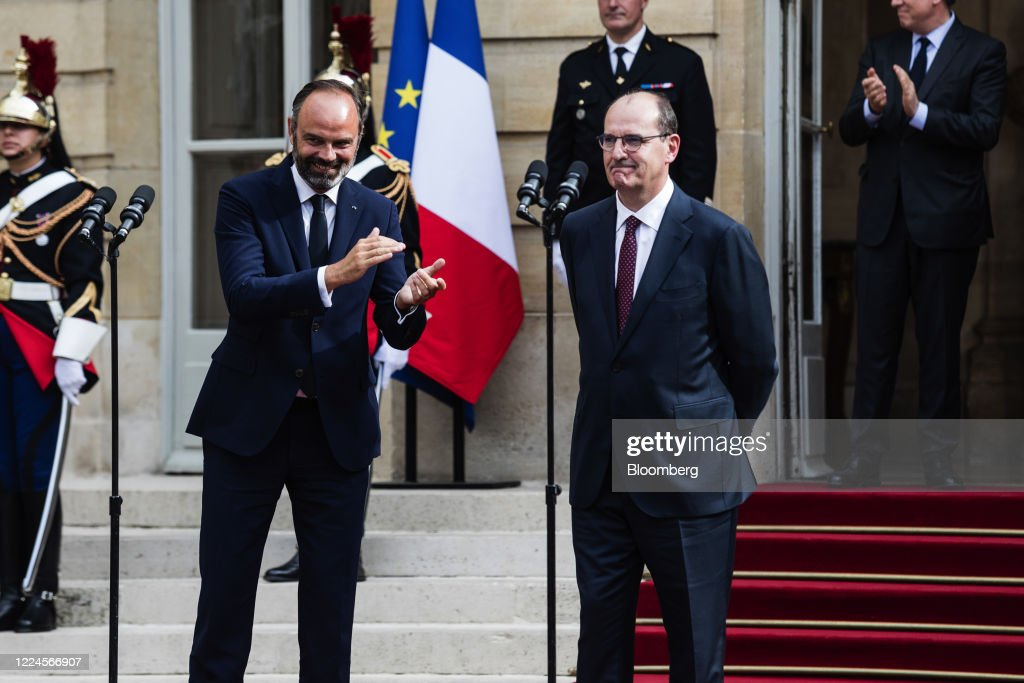 Jean Castex Named France's New Prime Minister in President Macron's Reshuffle : Photo d'actualité