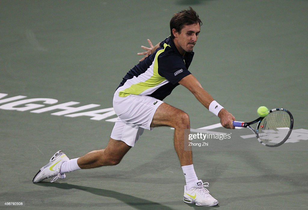 2014 Shanghai Rolex Masters 1000 - Day 3 : News Photo