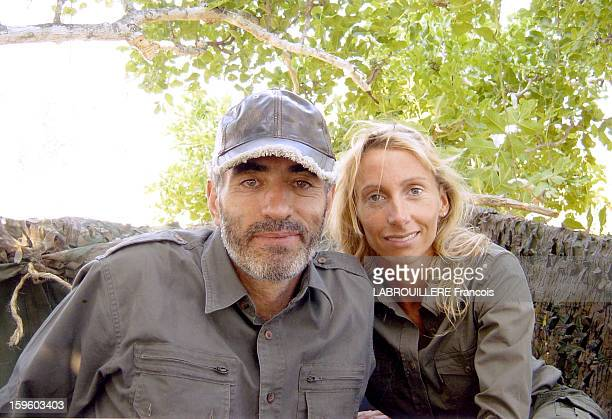 Edouard Stern and his mistress Cecile Brossard in a picture on January 2003 at a unspecified locationEdouard Stern was found dead on March 1 2005 in...