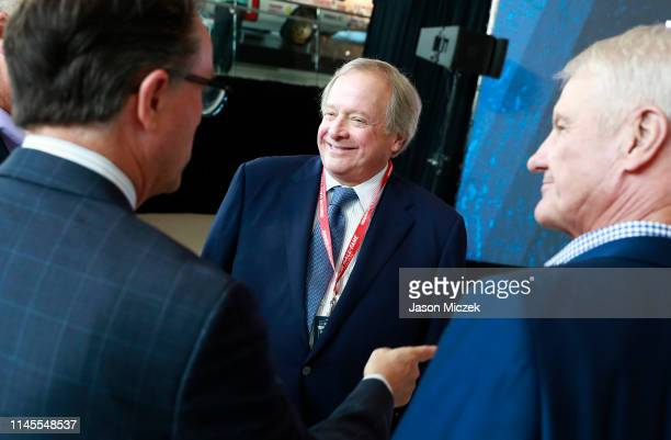 Edsel Ford II attends the NASCAR 2020 Hall of Fame announcement ceremony where he received the Landmark Award for Outstanding Contributions to NASCAR...