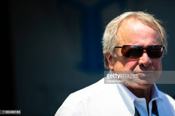 Edsel Ford II member of the board of directors of Ford Motor Company is pictured during the Gold Coast 500 Supercars Championship round on October 26...