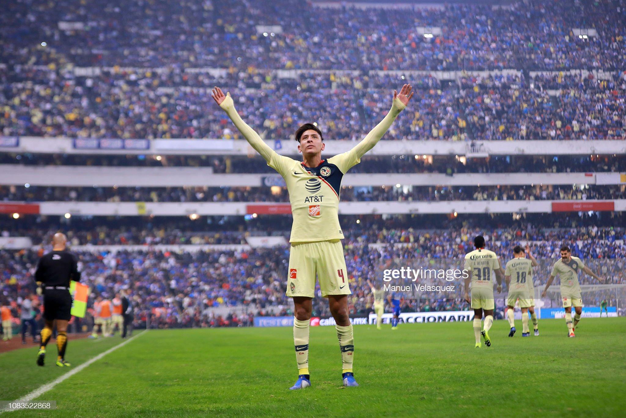 America -Edson Omar Álvarez Velázquez  Liga MX : ニュース写真
