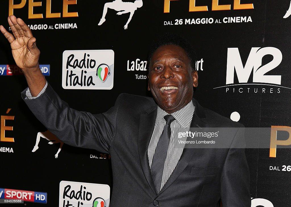 'Pele' Red Carpet In Milan : News Photo